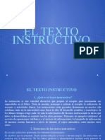 1. El Texto Instructivo Diapositivas (1)