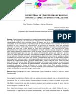 REPRESENTAÇÕES DE HISTÓRIAS DE VIDA E TEATRO DE BONECOS   EXPERIÊNCIA DE CONSTRUÇÃO CÊNICA NO ENSINO FUNDAMENTAL I