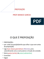 Preposição Slide Wanice