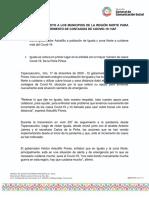 17-12-2020 TODO NUESTRO APOYO A LOS MUNICIPIOS DE LA REGIÓN NORTE PARA ENFRENTAR EL INCREMENTO DE CONTAGIOS DE COOVID-19- HAF