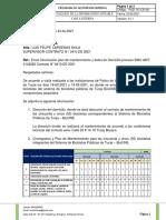 Envió información plan de mantenimiento y datos de Domicilio proceso SMC-AMT-0142020 Contrato N° 0410 DE 2021