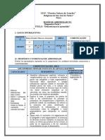 SESIÓN DE APRENDIZAJE 1- Diagnóstico- LEE