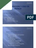 PREPARACION Y USO DE INDIGO