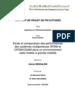 Etude et comparaison des performancesdes systèmes multiporteuse OFDM etOFDM/OQAM dans un environnementradio-mobile à grande mobilité