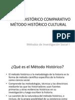 MÉTODO HISTÓRICO COMPARATIVO