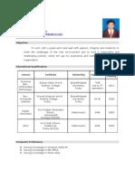 Raja's Resume