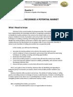 MODULE 2 Entrepreneurship Quarter 1