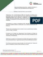 17-11-2020 MÁS OBRAS Y ACCIONES EN MATERIA EDUCATIVA, CUMPLE ASTUDILLO Y EQUIPA CENTRO DE CÓMPUTO DE SECUNDARIA EN PETAQUILLAS