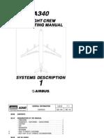 Airbus A340 Flight Crew Operating Manual Volume1 - Systems Description