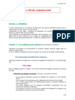 Droit Commercia Cours PDF
