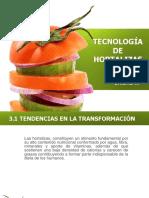 U III Tecnología de Hortalizas
