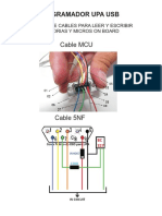 armado de cables onboard para UPA