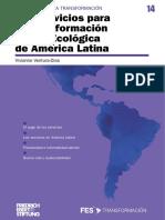 14. Los servicios para la Transformación Social-Ecológica de América Latina