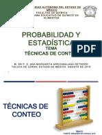 TECNICAS DE CONTEO EXISTENTES