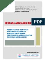 2. BOQ Renovasi BPN Pangkep