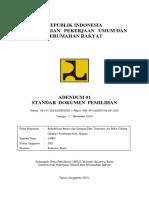 Adendum 01 SDP Paket Air Baku Galung