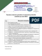 Tematica instruire PM2019