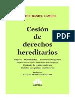 CESION DE DERECHO HEREDITARIOS. 201yy8. Nestor Lamber2