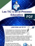Las TICs en El Proceso Educativo