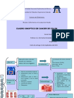 CUADRO SINOPTICO DE CANCER DE COLON
