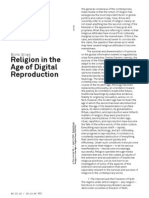 Religion in the Age of Digital Reproduction by Boris Groys