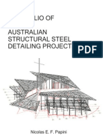 Portfolio of Structural Steel Detailing Projects - Nicolas Papini