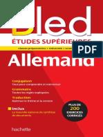 BLED - Allemand - Etudes Superieures - Collectif