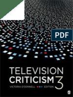 Victoria O'Donnell - Television Criticism-Sage Publications