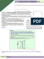 Série d Exercices Physique Corrigée Sur Le Condensateur 1