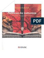 Latour Bruno Politicas Da Natureza Como
