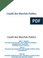 AUDIT DES MARCHES PUBLIQUES