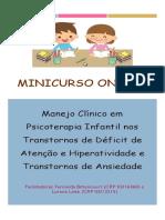 Manejo Clinico ORIENTAÇÕES