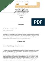 Veritatis splendor - Ioannes Paulus PP. II - Carta Encíclica (1993.08