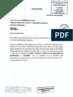 Carta notarial 2 del abogado Jorge Luis Picón Gonzales