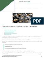 Champion Letter_ o follow up dos campeões