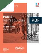 Paris Visites Guidees 2020 2021