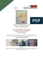Dossier accompagnement visite autonomie Signac