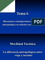 Tema 6 (Discusiones contemporáneas en la teoría antropológica)