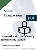 5 - Salud ocupacional diagnostico de condiciones y ambiente de trabajo