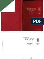 Rolls- Royce hand book