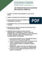 Aplicacion Domiciliaria Biologico Verita