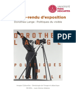 COMPTE-RENDU EXPO - DELEGLISE RACHEL