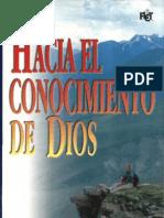 J.I Packer Hacia el conocimiento de Dios