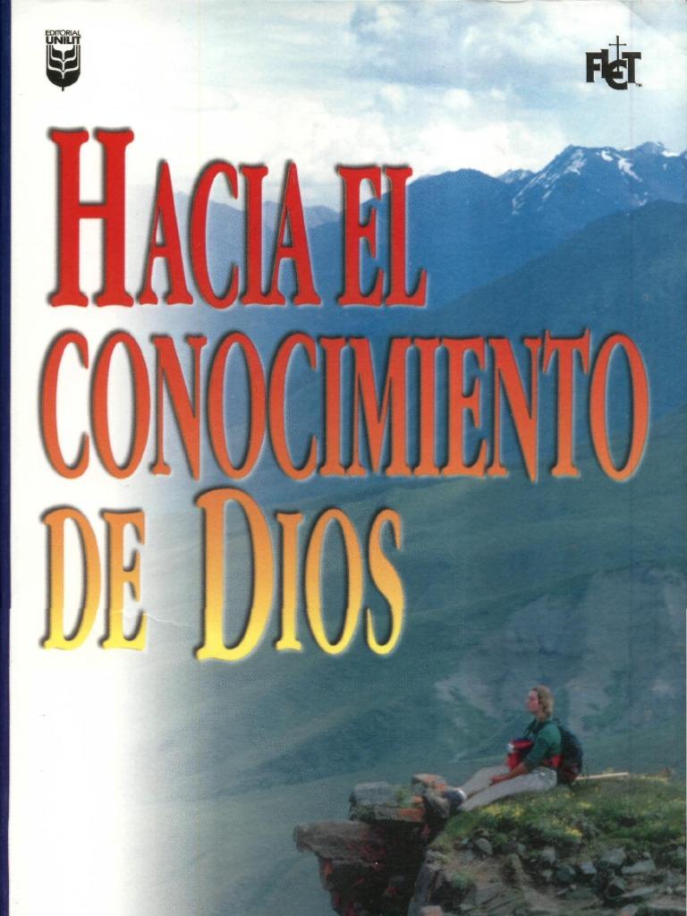 EL CONOCIMIENTO DEL DIOS SANTO JI PACKER PDF