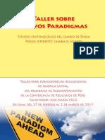 Taller Sobre Nuevos Paradigmas