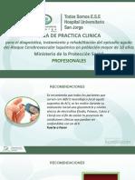 Rotafolio GPC-ACV ISQUEMICO