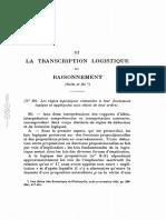 Feys 1925 La Transcription Logistique Du Raisonnement3