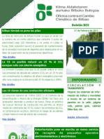 BIO Oficina contra el cambio clímatico de Bilbao 21 Febrero