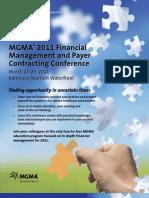 FMPC 2011 MGMA Brochure