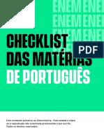 Checklist-Portugues